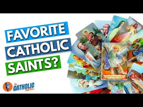 Who Are Your Favorite Catholic Saints? | The Catholic Talk Show