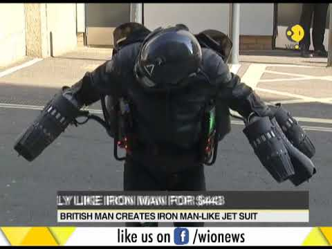 Iron Man jet suit on sale in UK