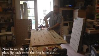 Mjb Benchmark Jig Makes Festool Mft/3 Tops