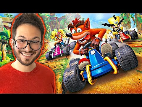 J'ai testé Crash Team Racing Nitro Fueled ! Mon avis + gameplay inédit