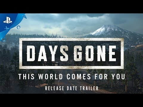 Days Gone | Release Date Announcement | PS4