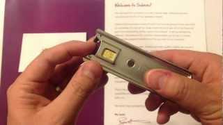 Solavei nano sim card for the iPhone 5