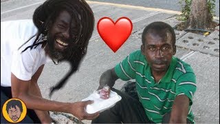 Buju Banton Giving Back To The Homeless In The Streets
