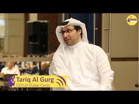 Dubai Cares CEO H.E. Tariq al Gurg at the Joint Alumni Network Iftar 2017.