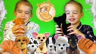 Sweet Pups Маленькие СЛАДКИЕ ЩЕНЯТА Милые щенки волшебные булочки и пирожные