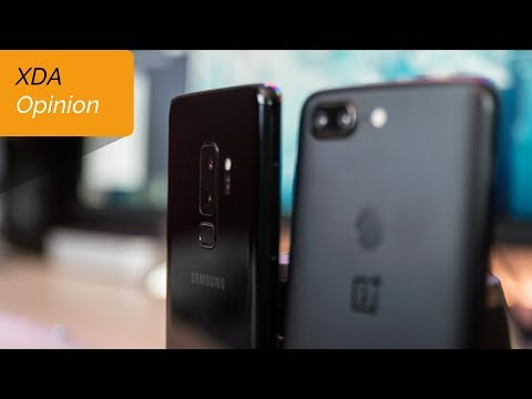 Galaxy S9+ vs OnePlus 5T: Why the Galaxy S9+ Is Overpriced