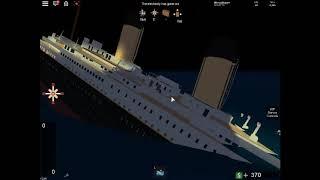 Fall In Split Roblox Titanic Badge