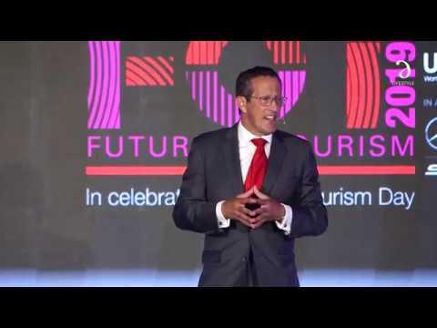 Richard Quest I Cinnamon Future Of Tourism 2019