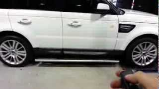 "range rover ""SPORT"" electric side step"