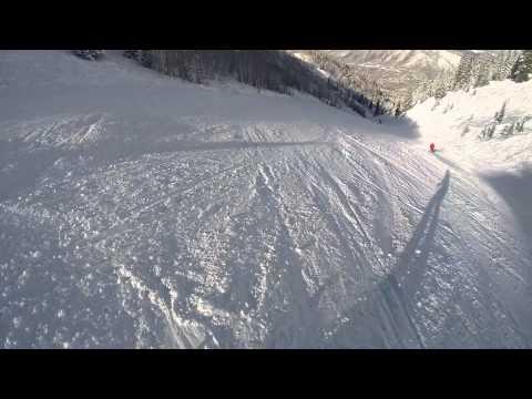 Aspen Mountain Snowboarding