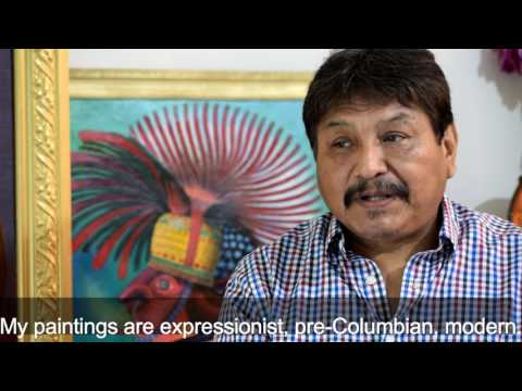 Roxana Rojas-Luzon interviewed Peruvian artist Pedro Huamaní