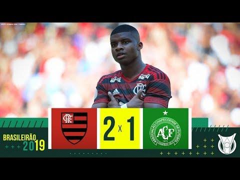 Flamengo 2 x 1 Chapecoense - Melhores Momentos - Campeonato Brasileiro (12/05/2019)