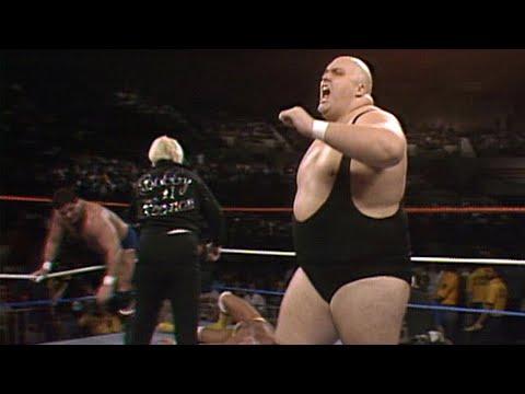King Kong Bundy crushes Hulk Hogan: Saturday Night's Main Event, March 1, 1986