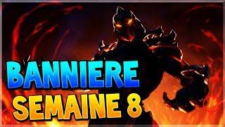 TROUVER LA BANNIÈRE CACHÉE DE LA SEMAINE 8 SAISON 8 SUR FORTNITE BATTLE ROYALE !