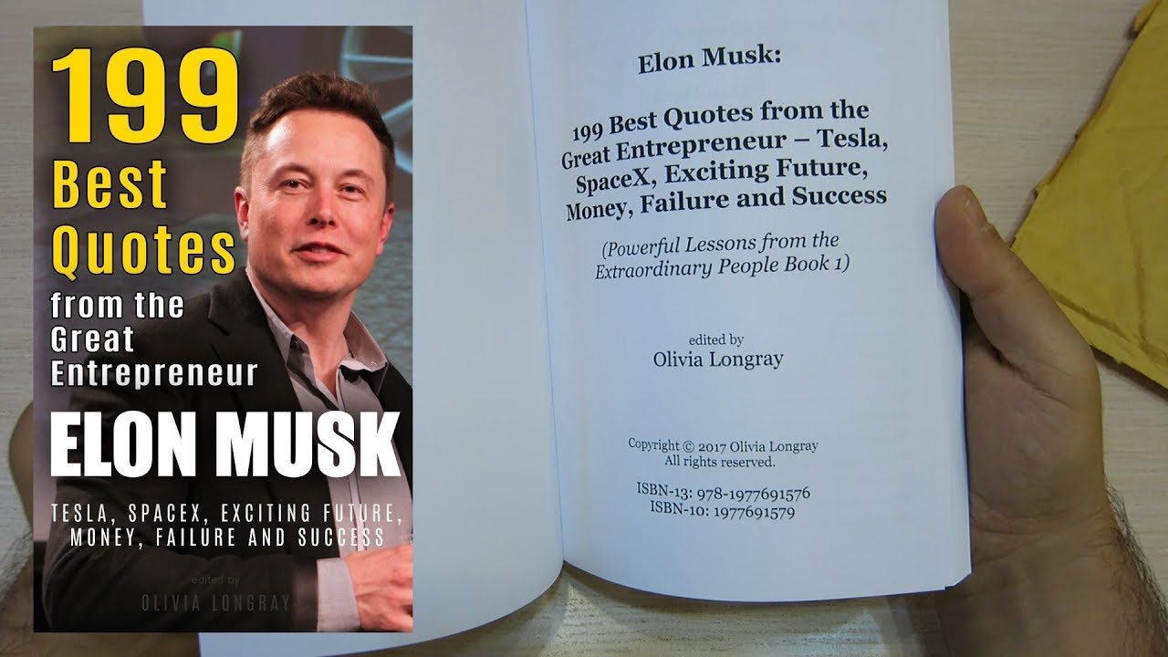 elon musk best quotes from the great entrepreneur книга с