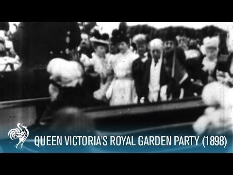 Queen Victoria At Garden Party (1898)