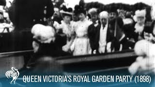 Queen Victoria At Garden Party (1898)