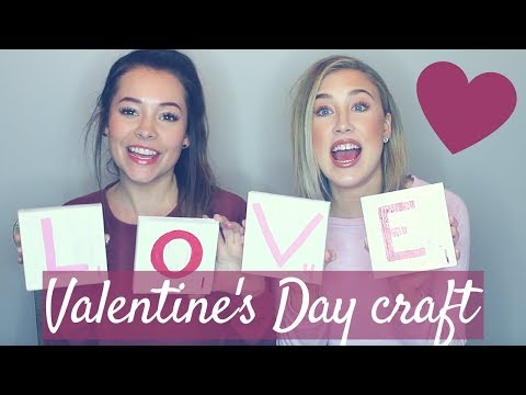 "Maddie and Tae ""Valentines Day Craft"""
