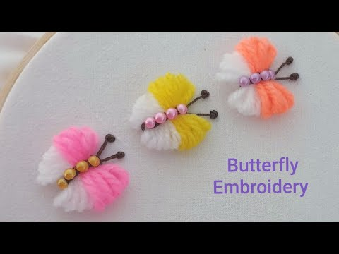 Amazing Butterfly Crafts Ideas With Woolen Yarn Easy Trick Hand