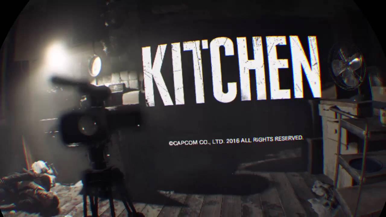 PS4-Live: PlayStation VR [Resident Evil 7: Kitchen Demo] - YouTube