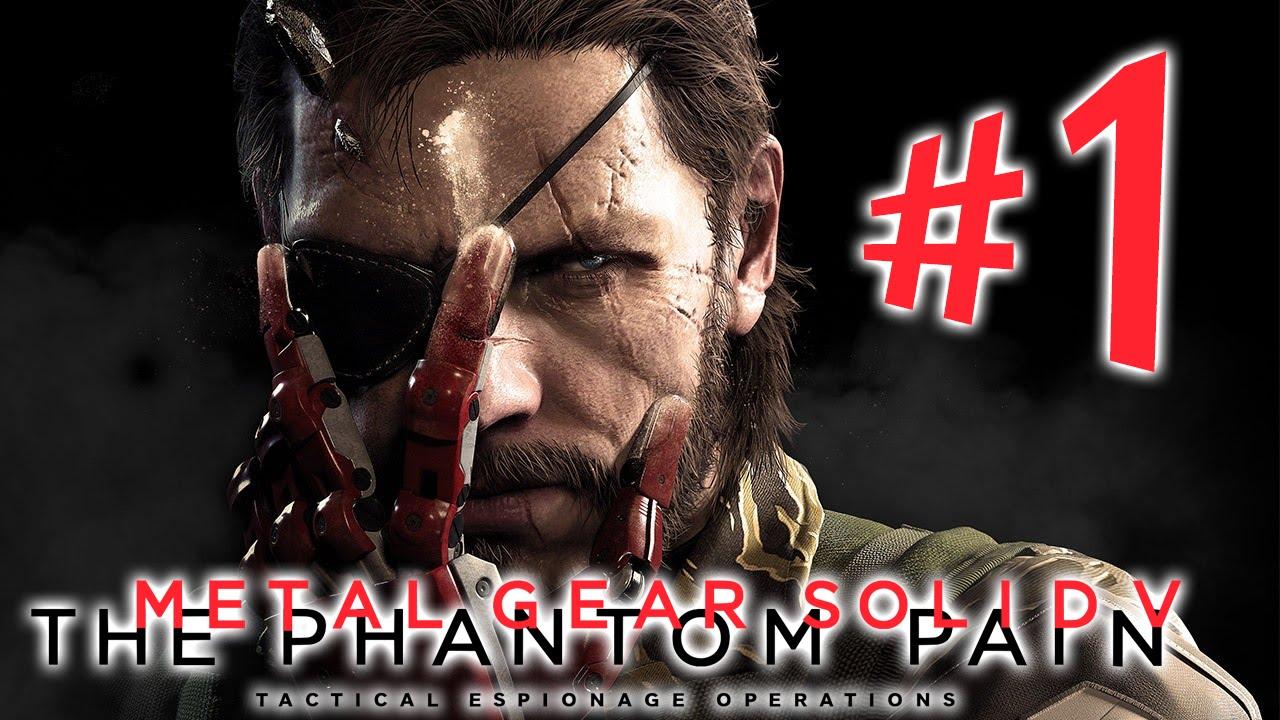5c67006b3e Metal Gear Solid V The Phantom Pain - Parte 1  O Despertar ...