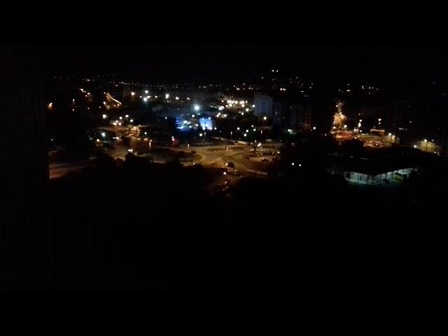 Vaya Panorama de noche en Ourense