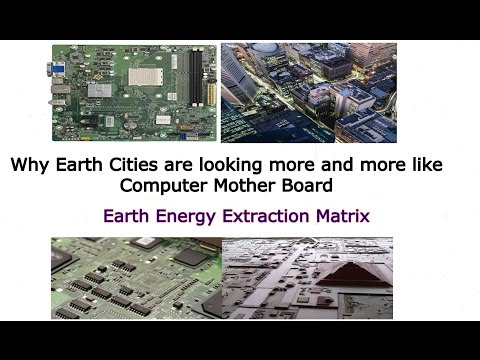 Why Cities On Earth are Looking More Like Computer Motherboards?