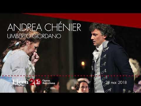 """'Andrea Chénier' (2017/18) - """"La nostra morte è il trionfo dell'amor"""""""