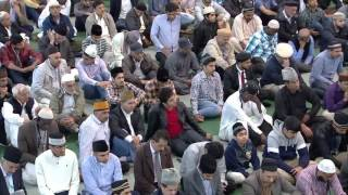 Проповедь Хазрата Мирзы Масрура Ахмада 04 09 2015    YouTube 720p