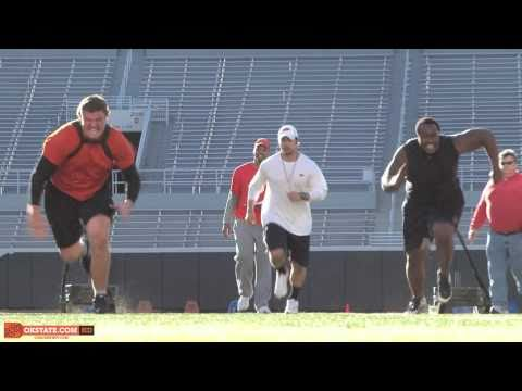 Cowboy Football 2011 Spring Workout Competition
