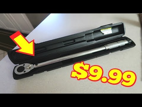Harbor Freight 9.99 Torque Wrench Review!!