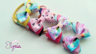 [PREVIEW] Headband ideas : Three Color Ribbon Bow Headband | DIY by...