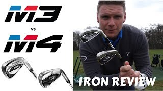 TAYLORMADE M3 VS TAYLORMADE M4 IRON REVIEW