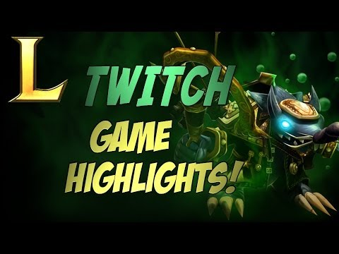 LoL | Twitch Game Highlights! =] [Cobrak]