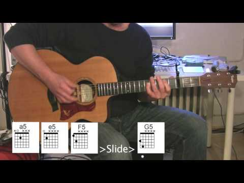 """""""Rolling In The Deep"""" Acoustic Guitar, Chord Diagrams"""