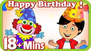 Kids Nursery rhymes - Happy Birthday And Plus More Nursery Rhymes | 18 Mins Short Compilation For Kids