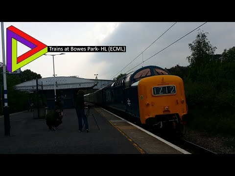 Trains At #15| Bowes Park- HL (ECML) [06/05/2017]