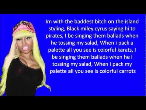 Nicki Minaj - Dang-a-lang LYRICS