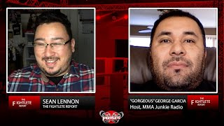 "Talkin' Shop Podcast with MMAJUNKIE Radio Host ""Gorgeous"" George - UFC Fight Island 7 and more!"