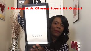 I BuyThe Cheapest Thing At Gucci | Under $40 | Episode 1