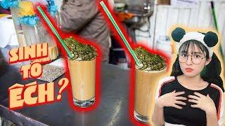 SINH TỐ ẾCH ► 10 Đồ Uống Bạn Chưa Bao Giờ Nghe Thấy