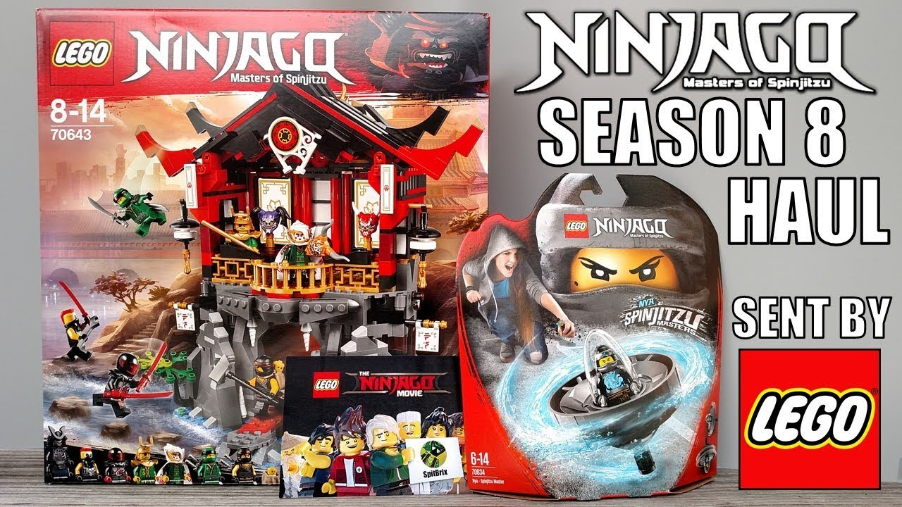 Amazing Ninjago 2018 Haul sent by The LEGO Group    YouTube Amazing Ninjago 2018 Haul sent by The LEGO Group