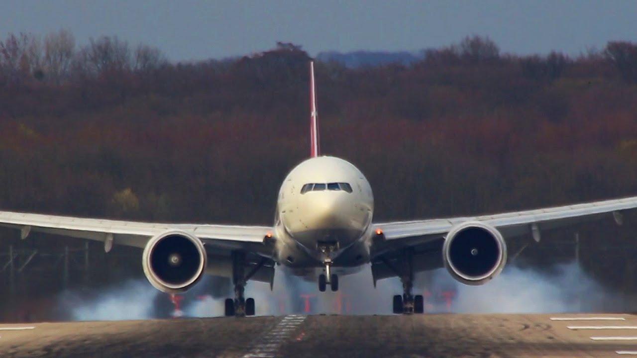 Skiathos Landing Boeing 757 beach towel