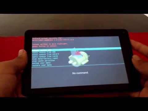 How to access your RCA tablet if you forgot the password to it 2018