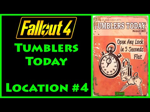 Fallout 4 - Tumblers Today - West Roxbury Station - 4K Ultra HD