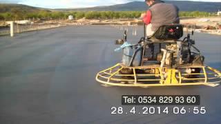 Ankara Saha Beton - Helikopterli Beton-Endrustriyel Zemin Betonu