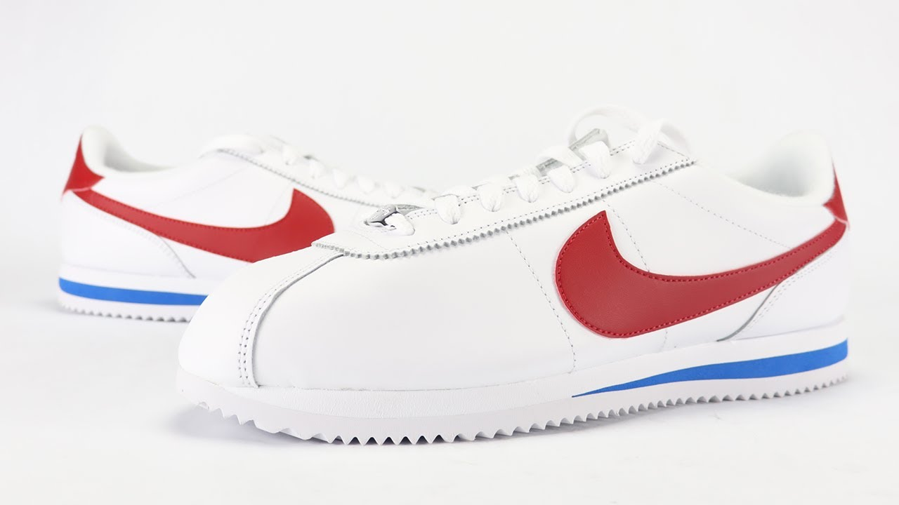 4a10b02a1792ee Nike Cortez OG 2017 Forrest Gump Review + On Feet - YouTube