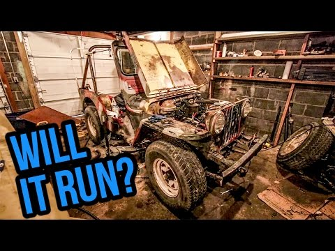 Rebuilding The Worst Willys Jeep In America - Project Slow Devil Pt 1