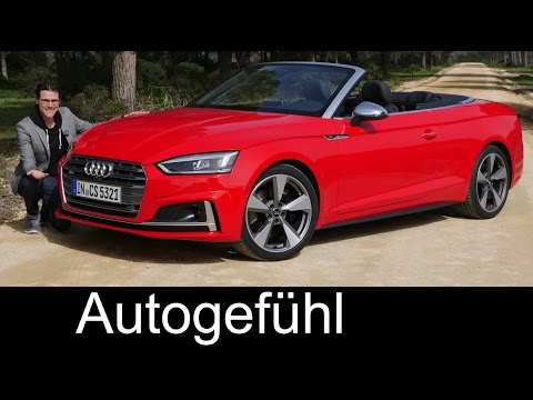 the-best-convertible?-audi-s5-cabriolet-full-review-test-driven-v6-all-new-a5-neu-2018---autogefühl