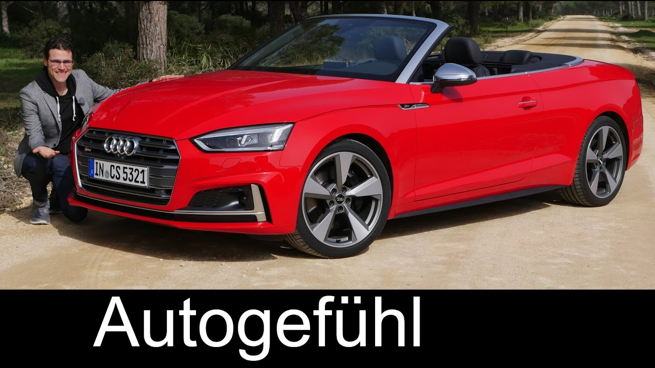 The Best Convertible Audi S5 Cabriolet Full Review Test Driven V6